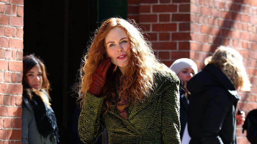"""Nicole Kidman am Set der Serie """"The Undoing"""""""