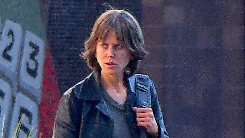 "Nicole Kidman am Set von ""Destroyer"""