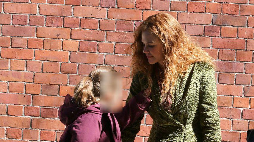 """Nicole Kidman mit ihrer Tochter Sunday Rose am Set von """"The Undoing"""""""