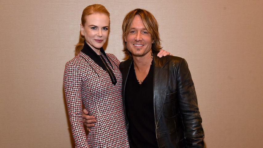Nicole Kidman und Keith Urban, 2016
