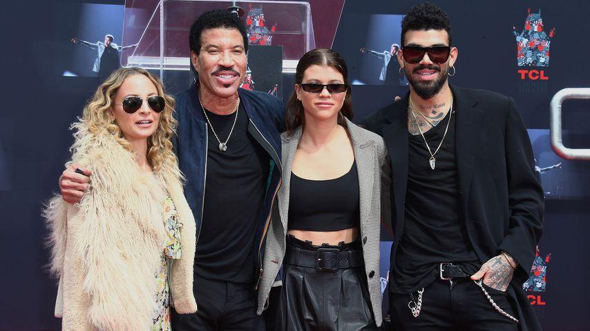 Nicole, Lionel, Sofia und Miles Richie