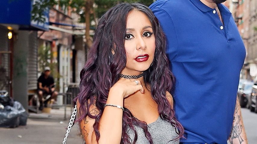 "Nicole ""Snooki"" Polizzi in New York"