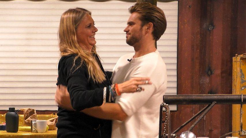 """Nicole Belstler-Boettcher und Johannes Haller bei """"Promi Big Brother"""""""