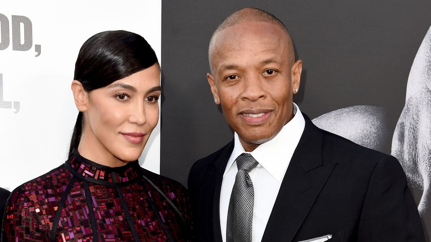 Nicole Young und Dr. Dre, 2017