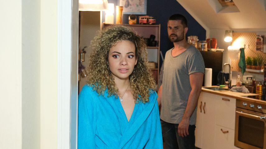 """Nika (Isabelle Geiss) und Paco (Miloš Vuković) bei """"Unter uns"""""""
