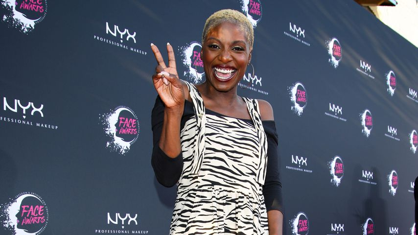 Nikeata Thompson bei den NYX Face Awards in Berlin