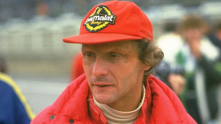 Niki Lauda im Jahr 1985