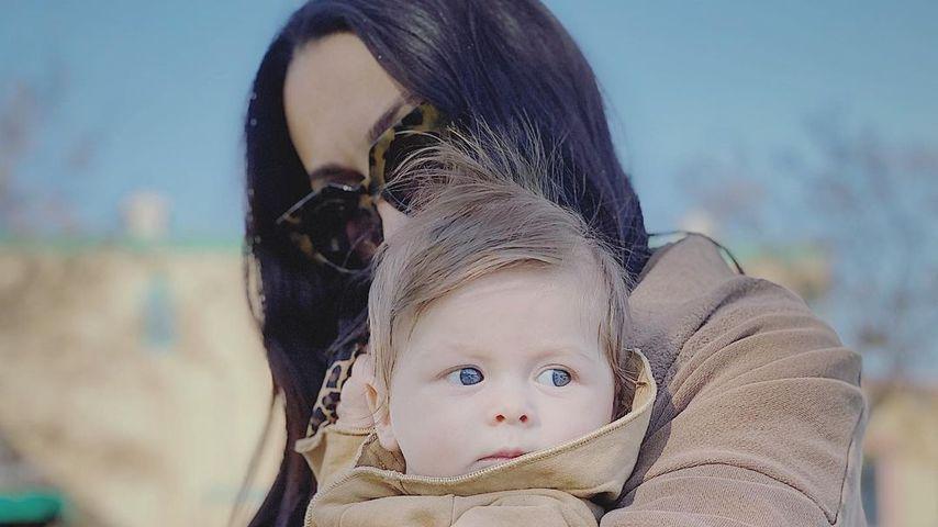 Nikki Bella mit ihrem Sohn, November 2020