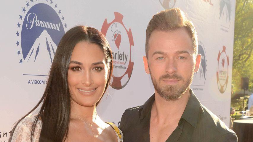 Nikki Bella und Artem Chigvintsev im Juli 2019 in Los Angeles