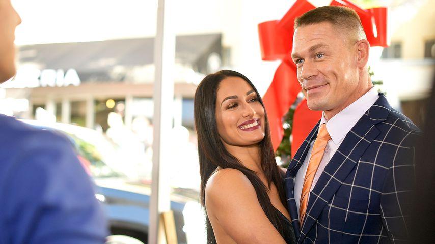 Nikki Bella und John Cena im Jahr 2017