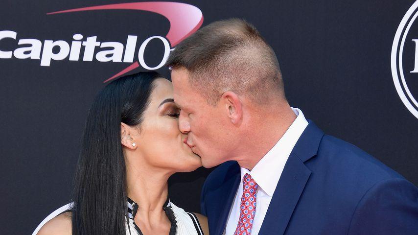 Nikki Bella und John Cena im Juli 2017 in Los Angeles
