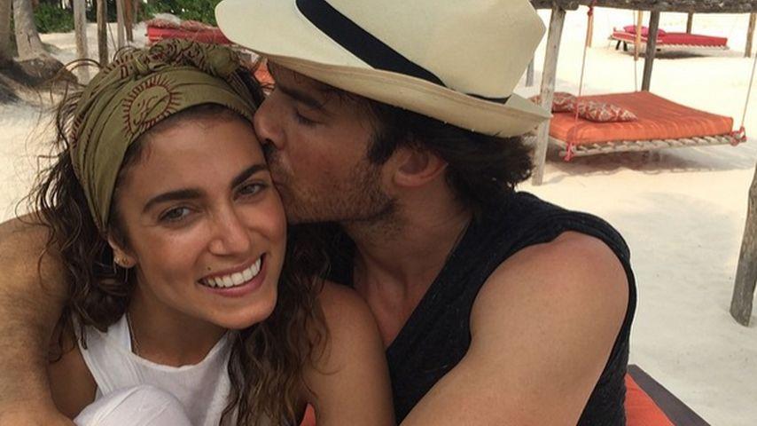 1. Schnappschuss: Nikki Reed & ihr Ian in den Flitterwochen