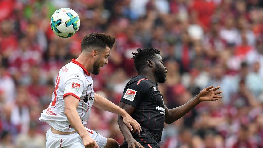 Das letzte Zweitligaspiel von Fortuna Düsseldorf gegen den 1. FC Nürnberg