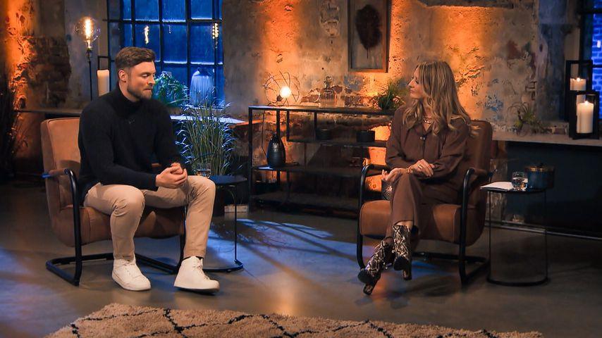 """Niko Griesert und Frauke Ludowig bei """"Der Bachelor – Nach der letzten Rose"""""""