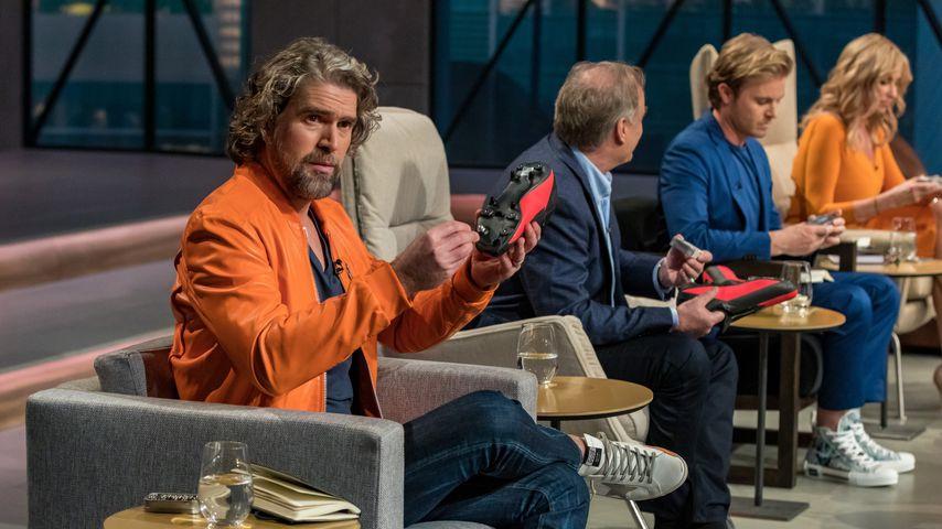 """Nils Glagau, Georg Kofler, Nico Rosberg und Dagmar Wöhrl, Investoren bei """"Die Höhle der Löwen"""""""