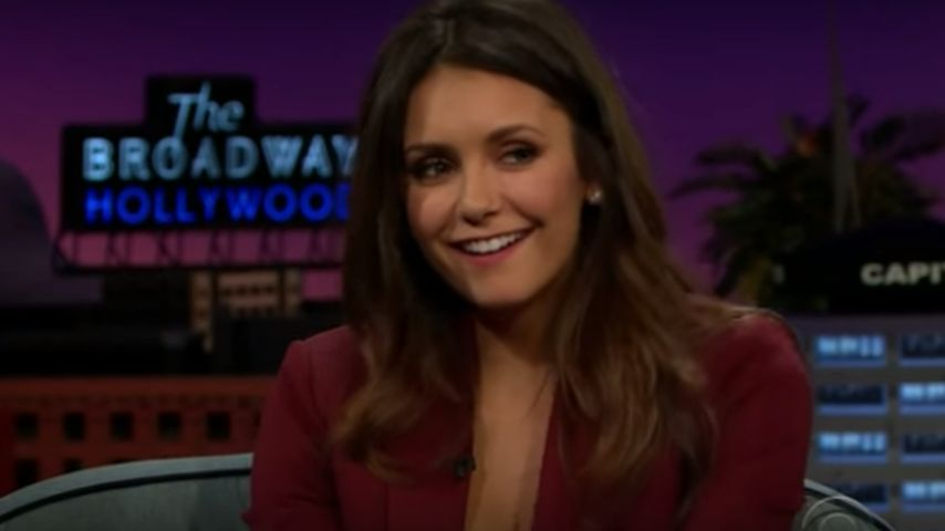Nina Dobrev: Bulgarischer Sex-Talk bei James Cordens Show