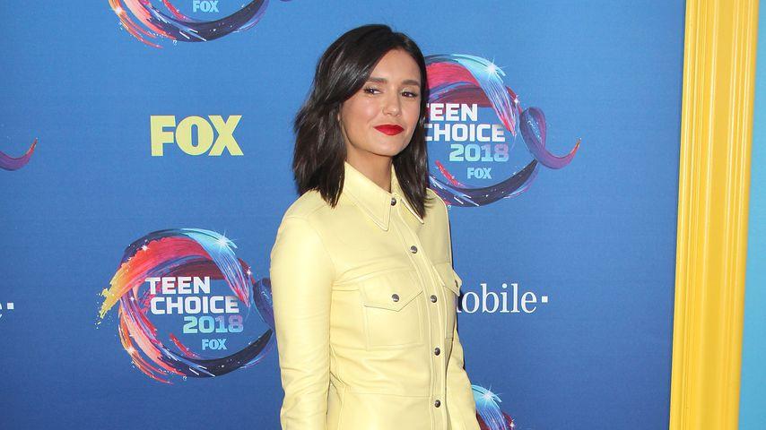 Nina Dobrev bei den Teen Choice Awards 2018