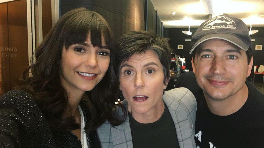 Nina Dobrev, Stand-Up-Comedian Tig Notaro und Schauspieler Ken Marino