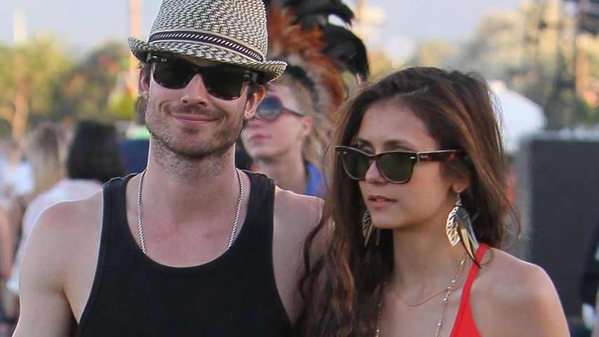 Ian Somerhalder und Nina Dobrev beim Coachella Festival 2012