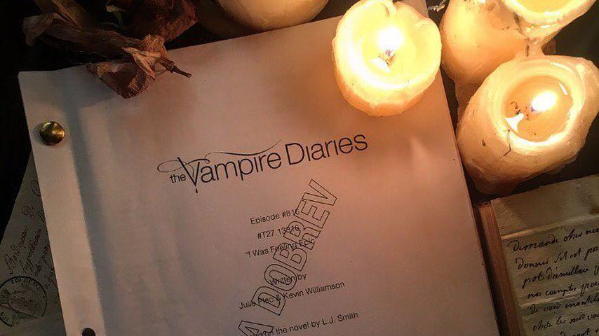 """Nina Dobrevs """"Vampire Diaries""""-Skript"""