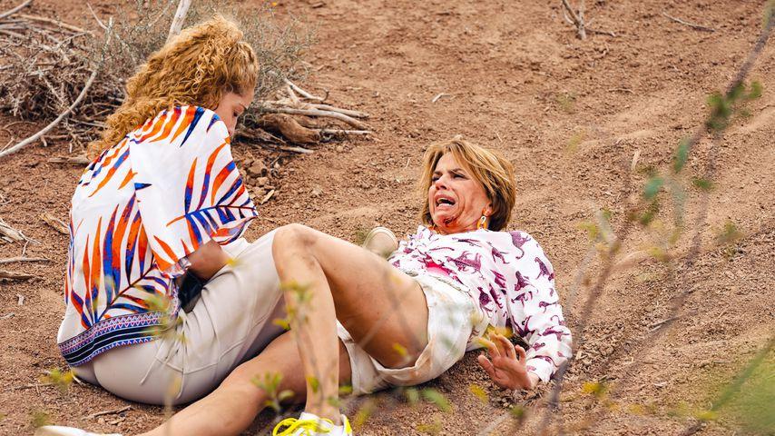 Nina (Maria Wedig) und Yvonne (Gisa Zach) in der 7.000. GZSZ-Folge