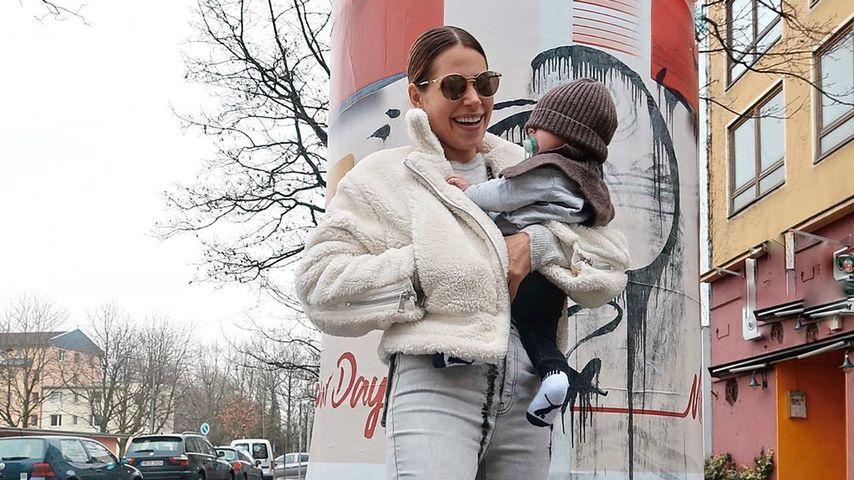 Nina Noel mit Baby Lyano