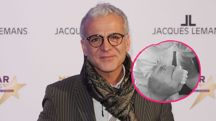 Affären-Baby bestätigt: Nino de Angelo zeigt sich mit Sohn!