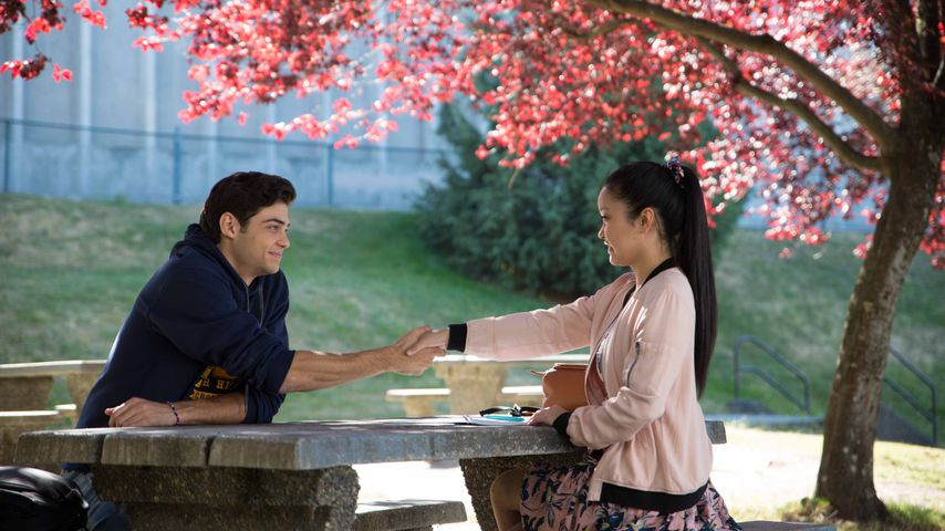 """Noah Centineo und Lana Condor in """"To All The Boys I Loved Before"""""""