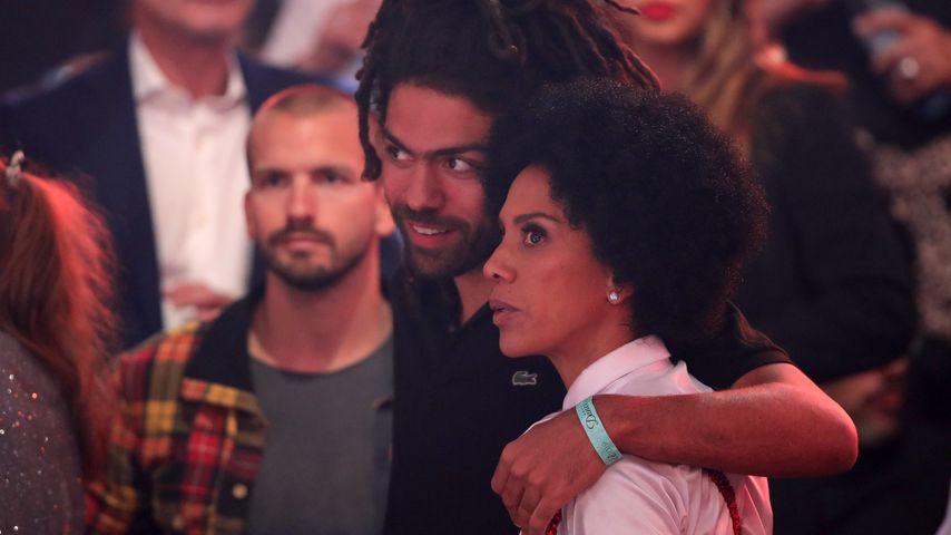 """Juan, Noah und Barbara Becker bei """"Lets' Dance"""""""