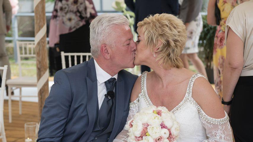 Norbert und Wiebke bei ihrer Hochzeit