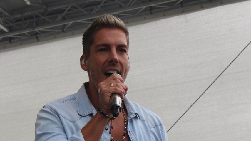 Norman Langen bei einem Auftritt in Schwerin, Juni 2018