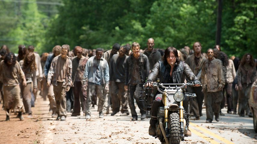 "Norman Reedus bei ""The Walking Dead"" an"