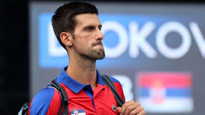 Novak Djokovic bei den Olympischen Spielen im Juli 2021