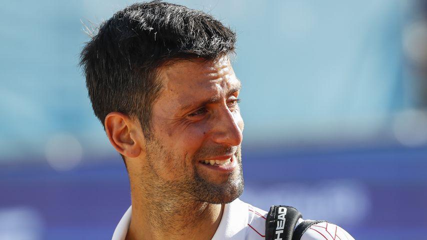 Novak Djokovic bei der Adria Tour in Belgrad