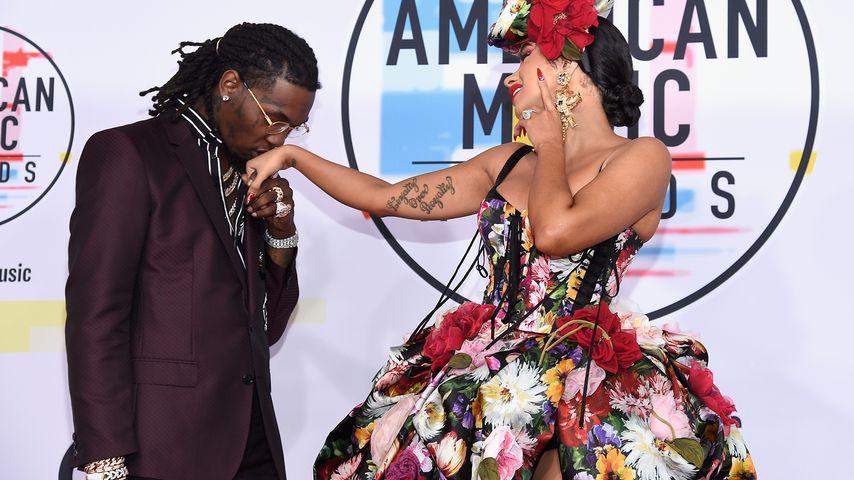 Offset und Cardi B bei den American Music Awards 2018