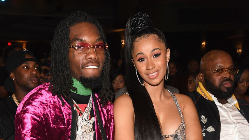 Offset und Cardi B bei den BET Hip Hop Awards 2017