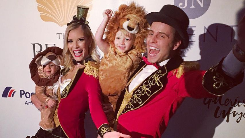Löwen & Dompteure: So süß feierte Oksanas Familie Karneval!