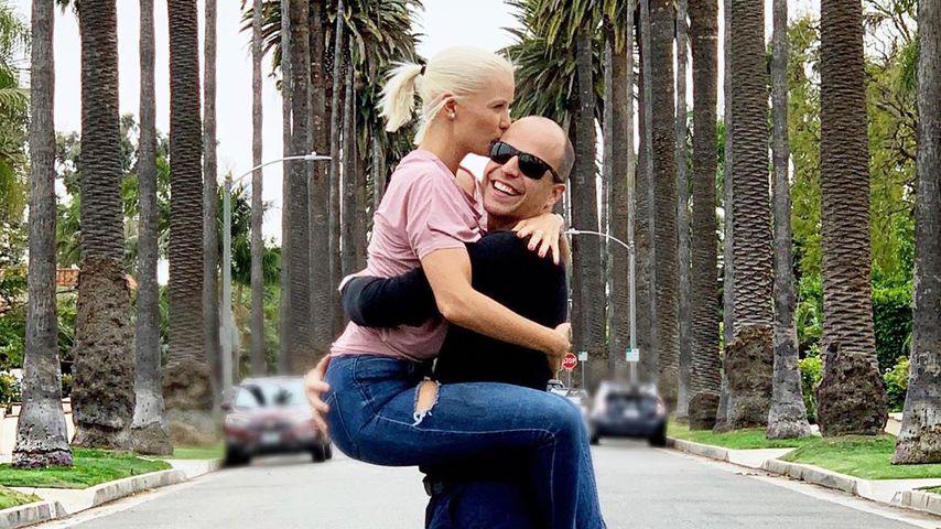 Oksana und Daniel Kolenitchenko im Mai 2019 in Beverly Hills