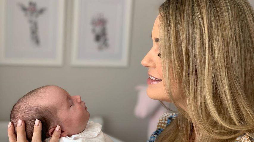 Ola Jordan und ihre Tochter Ella im April 2020