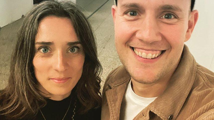 Oli P. und seine Frau Pauline im November 2019