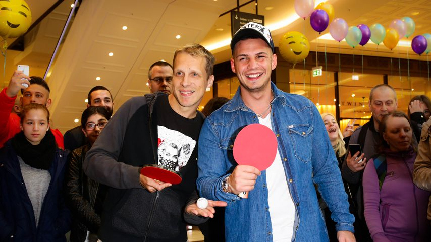 Olli Pocher und Pietro Lombardi