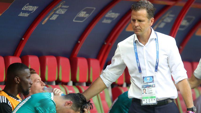 Oliver Bierhoff nach der WM-Niederlage gegen Südkorea