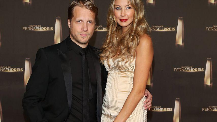 Oliver Pocher und Alessandra Meyer-Wölden im Oktober 2012