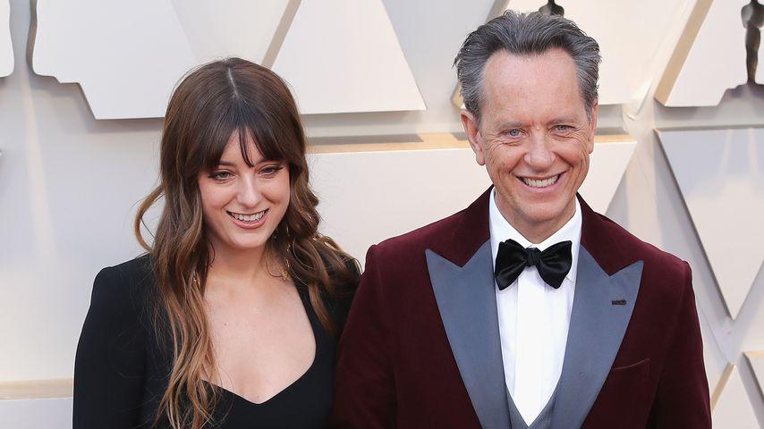 Olivia und Richard E. Grant bei den Oscars 2019