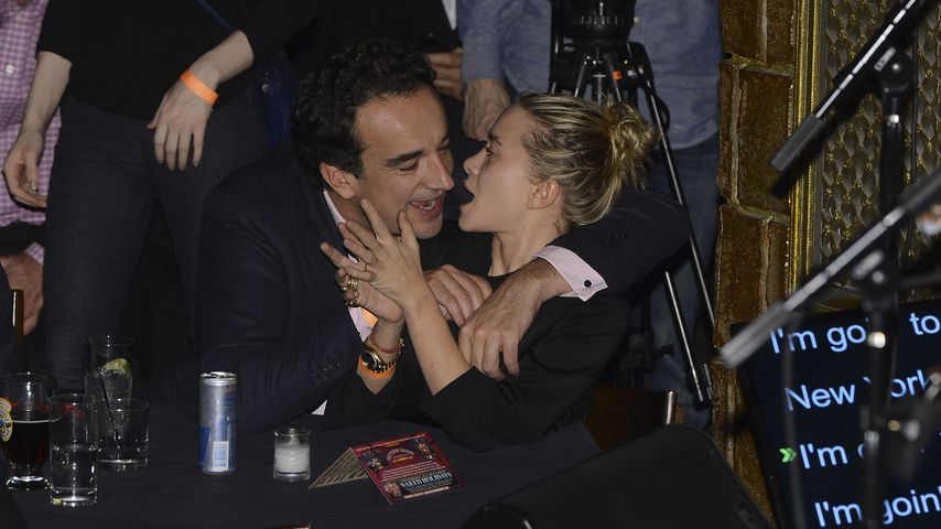 Olivier Sarkozy und Mary-Kate Olsen in New York City