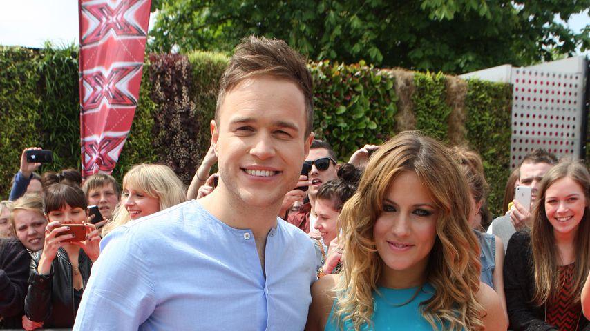 Olly Murs und Caroline Flack, 2011