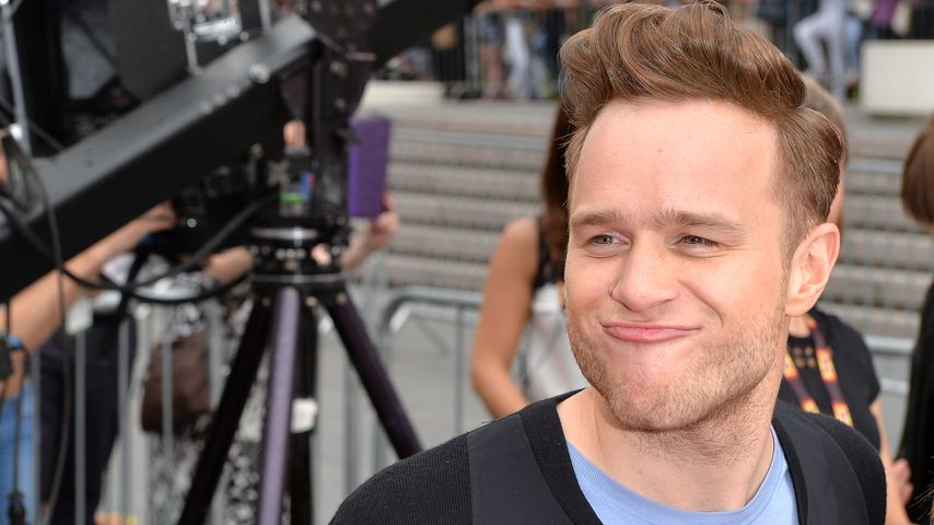 Olly Murs bei einem X-Factor-Casting in London