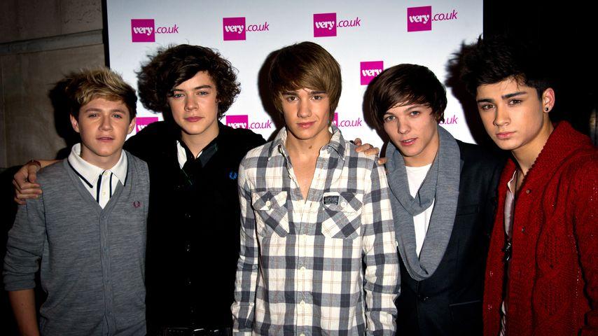 One Direction bei einem Event in London im November 2010