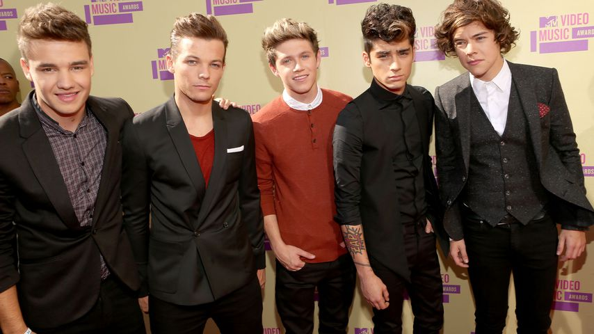 One Direction bei den MTV VMAs in L.A. im September 2012
