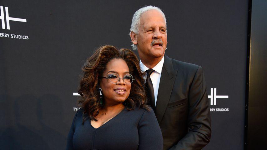 Oprah Winfrey und Stedman Graham 2019 in Atlanta
